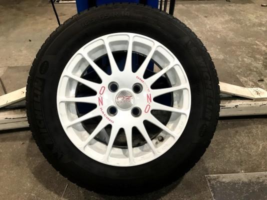 OZ WRC 6J14ET36 185 55R14 60,000