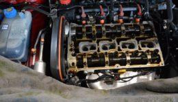 147ツインスパーク オイル漏れの修理