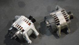 アルファロメオGT 発電不良の修理<br>オルタネータのトラブル