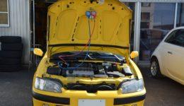106s16 エアコントラブルの修理