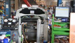 フィアット500C デュアロジック<br>クラッチ系統の整備