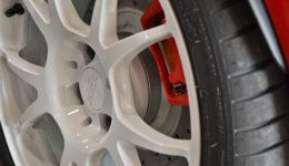 アバルト595リヤディスクを大径化<br>アバルト・リヤ・ビッグローターキット