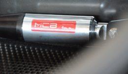 「MCB®」センター 本日も取り付けのご来店です<br>アバルトやフィアット500専用 MCB®
