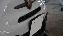 新車のアバルト595 仕上げていきます<br>フルオーダー・コンプリート・アバルトの製作 第7章