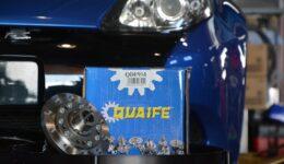 ルーテシア3RS QUAIFE(クワイフ)ヘリカルLSDの組付け<br>軽量フライホイールも同時交換