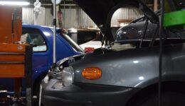 ASNUによるインジェクタノズルのメンテナンス<br>ムルティプラは車検整備の進行中