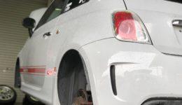 スチーム洗浄と基本のブレーキ整備作業