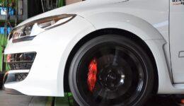 メガーヌ3RS トロフィーS メンテナンスの開始<br>ステージ3やアライメント・タイミングベルトなど