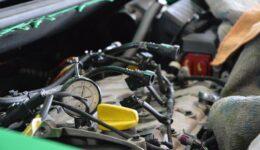 ルーテシア3RS タイミングベルトやエンジンマウントの交換