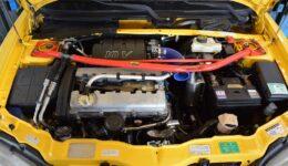 106s16はタイミングベルトの交換<br>プジョー106S16 販売車両の整備の開始