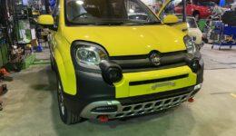 PANDA CROSS 4×4の新車メンテナンス①