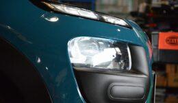 カクタスに BREX LED ヘッドライトコンバージョン