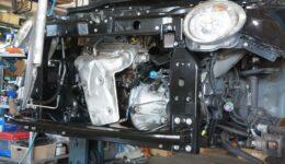 フィアット500 1.2 水回りと足回りのリフレッシュ<br>予防整備と質感向上整備