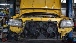 106S16 フルリフレッシュメンテナンスのスタート<br>中古車販売車両の作業