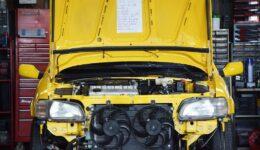 エンジン冷却系統の作業<br>中古車販売車両の作業-10