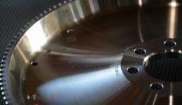 ルーテシア3RS 軽量フライホイールの組付け<br>エンジンスタンド改 ミッションスタンドが調子良い!