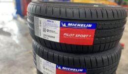 FIAT500Xのタイヤ交換 パイロットスポーツ4装着