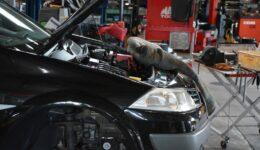 メガーヌ2 MK4MM タイミングベルトの交換<br>レデューサやクランクプーリで気持ちの良いエンジンに