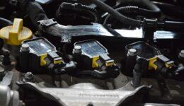 124スパイダーにV-UP16の取付<br>イグニッションチューニングの定番品 V-UP16