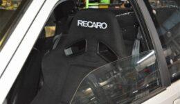 106S16 GF-S2S 転勤前一斉整備<br>車検対応の意味も含めてRECAROシートに交換